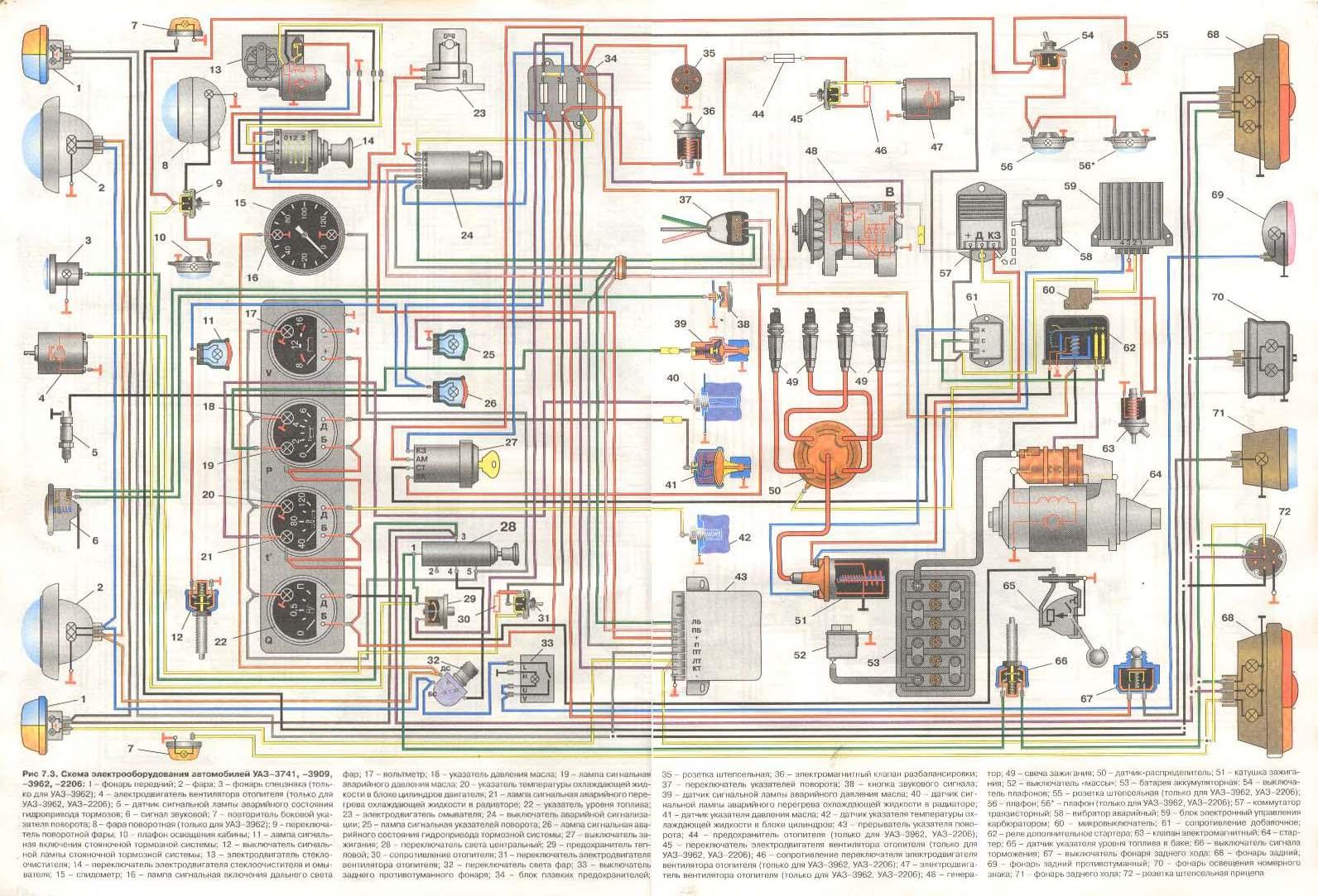 эл схема зарядки аккумулятора газ 66