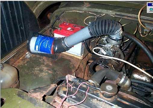 Двигатели автомобилей УАЗ.  Система питания.