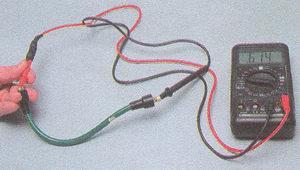 высоковольтный провод - катушка зажигания
