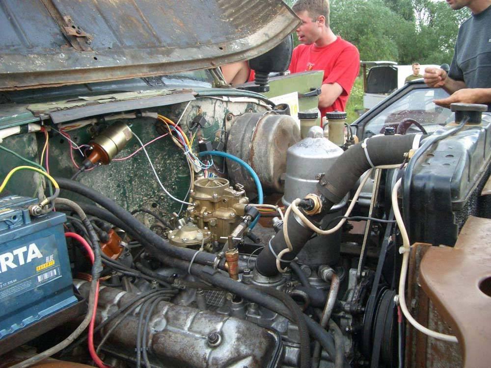 Как увеличить мощность двигателя на уазе